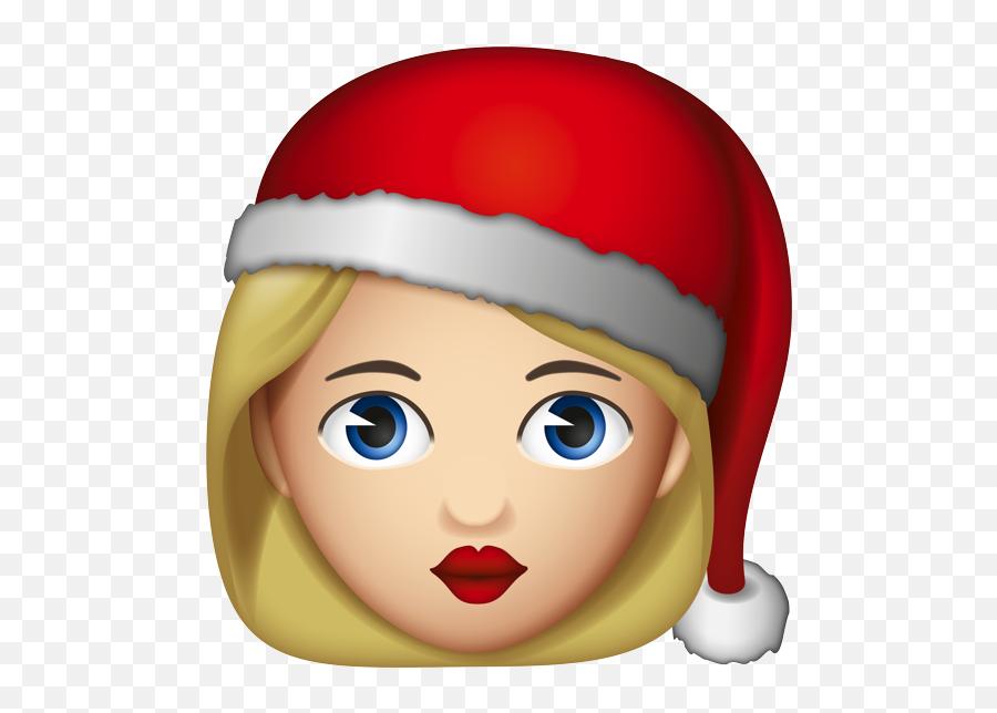 Emoji - Santa Claus Emoji Woman,Santa Emoji