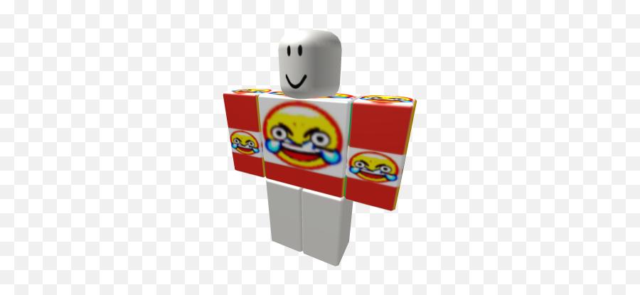 Deep Fried Laughing Crying Emoji - Roblox Adidas Hoodie Free,Laughing Crying Emoji