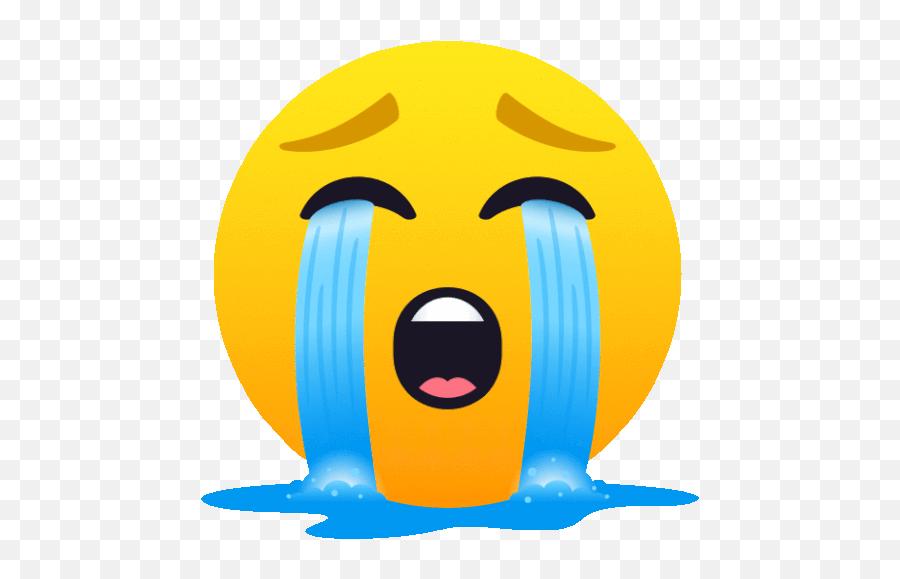 Loudly Crying Face People Gif Emoji,Loudly Crying Emoji