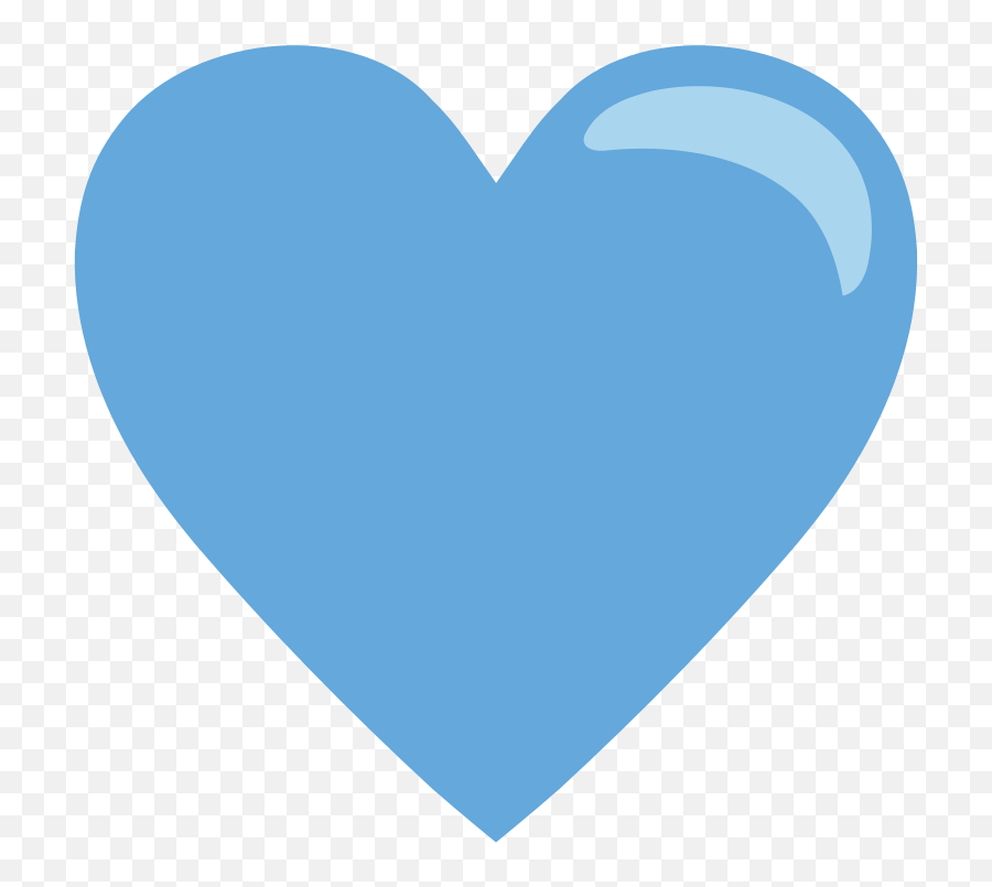Emojione1 1f499 - Blue Heart Png Emoji