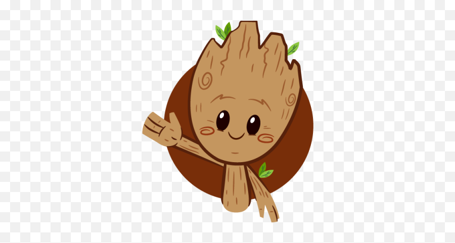 Sticker Png And Vectors For Free - Guardians Of The Galaxy Facebook Stickers Emoji,Groot Emoji