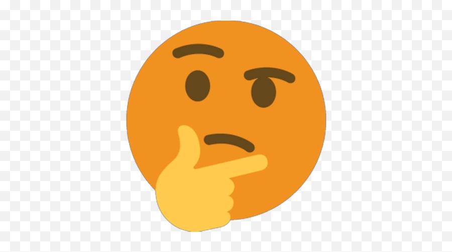 Reversed Colors Emoji - Discord X Emoji Gif,Thinking Emoji