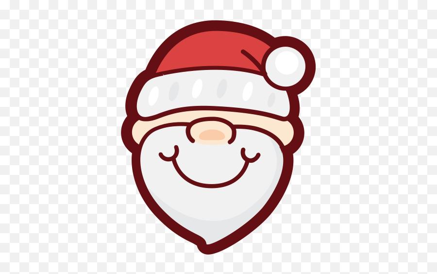 Santa Claus Icon Png And Vector For - Santa Avatar Emoji,Santa Clause Emoticon