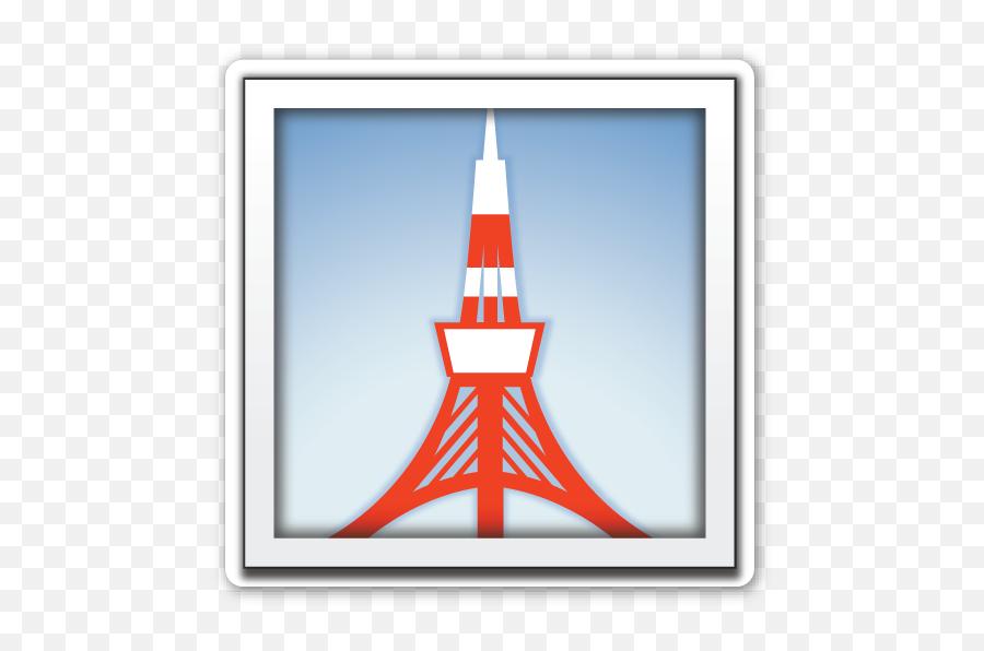 Tokyo Tower - Emoji Eiffel Tower,Eiffel Tower Emoji