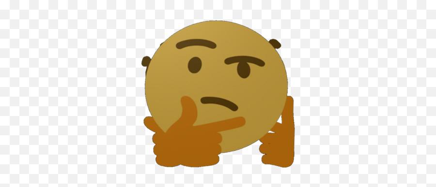 Thinking Emoji Gif - Thinking Emoji Gif Png,Thinking Emoji