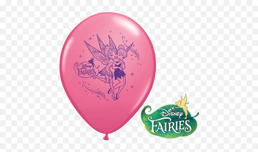Tinkerbell Fairies 12in Latex Balloon - Disney Fairies Emoji