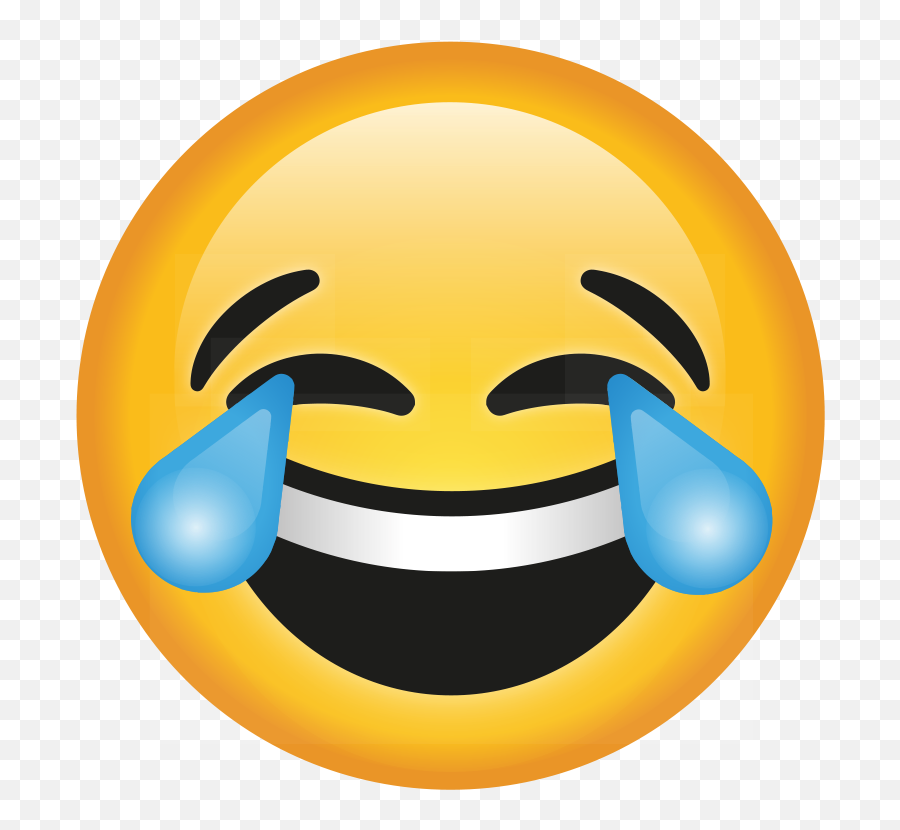 Transparent Crying Laughing Emoji Png - Crying Laughing Emoji Png,Laughing Crying Emoji