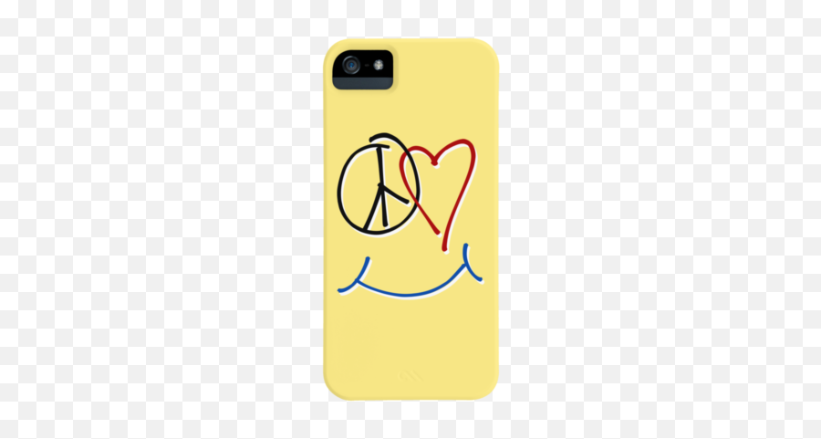 Funny Science Joke Phone Case By RaizePeace Design By Humans - Happiness Symbol Emoji