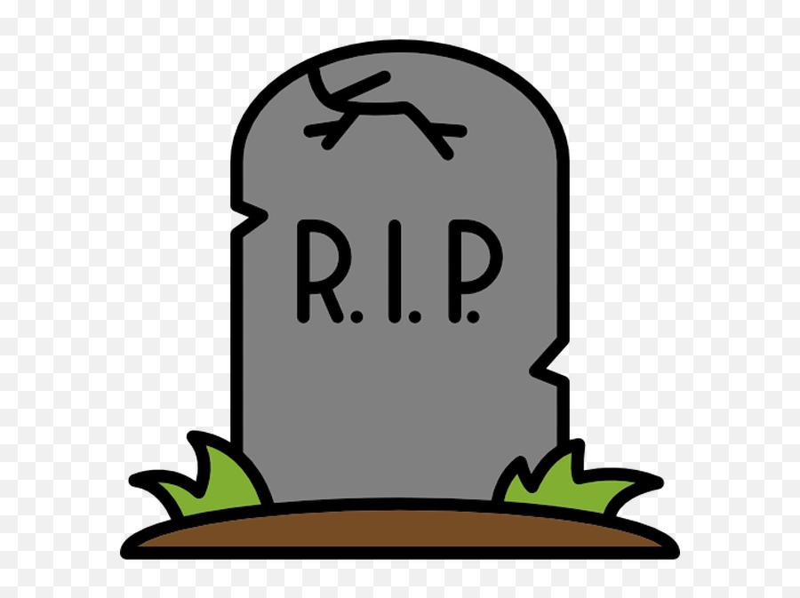 Dead Clipart Tombstone Dead Tombstone Transparent Free For - Rip Emoji,Grave Emoji