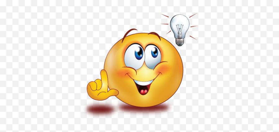 Brilliant Idea Thumb Up Emoji - Have An Idea Emoji