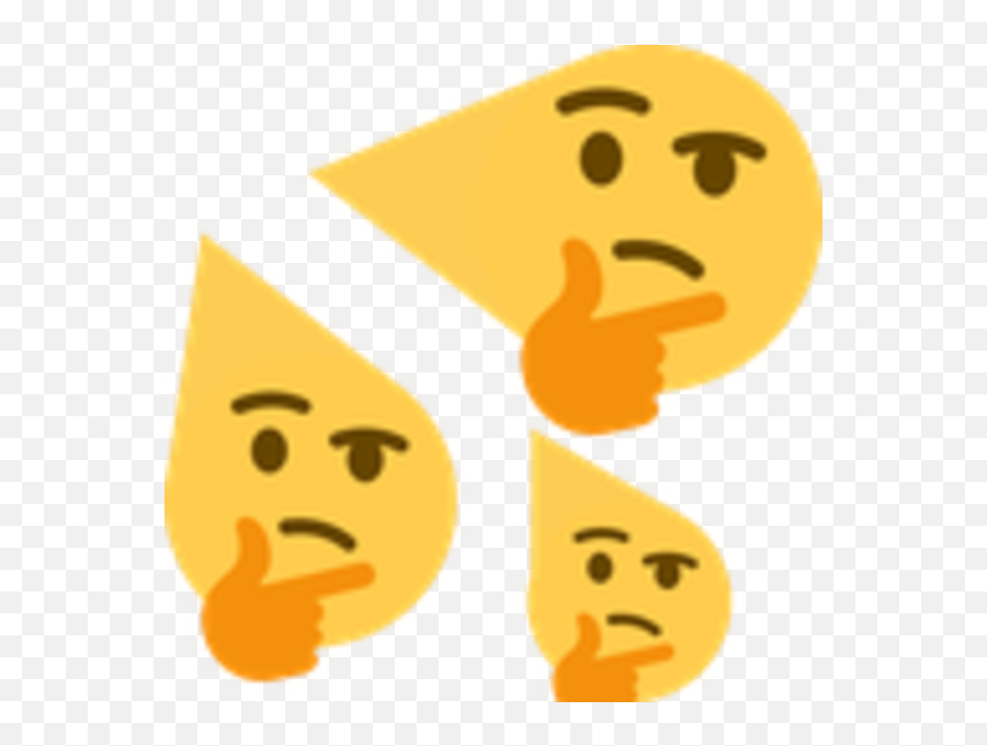 Thweating - Thinking Emoji Meme,Thinking Emoji