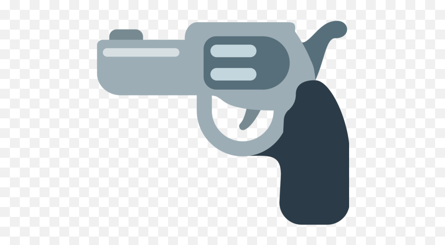 Pistol Emoji - Discord Gun Emoji Png