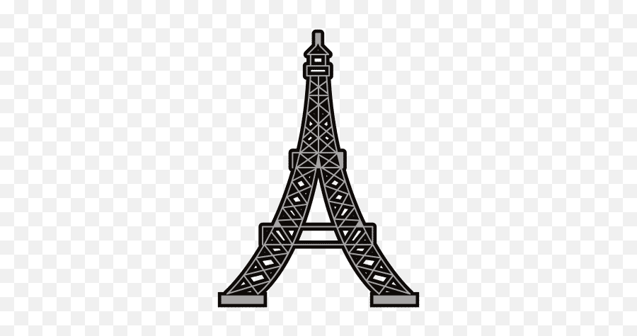 Eiffel Icons - Illustration Emoji,Eiffel Tower Emoji