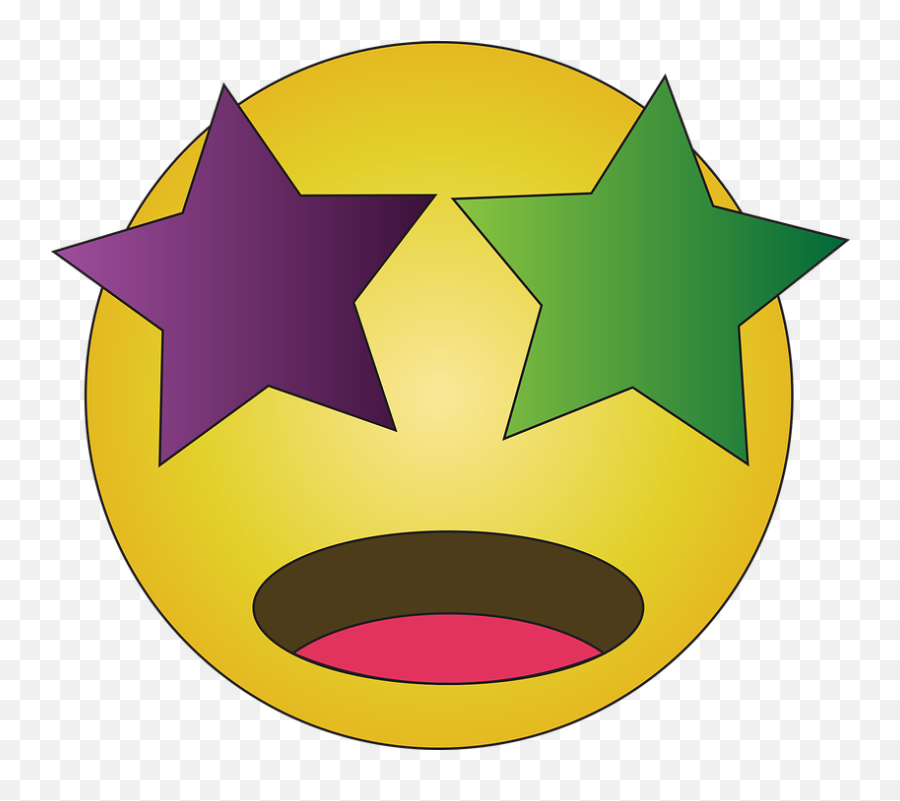 Starry Eyed Emoji Emoticon - Danger Mouse