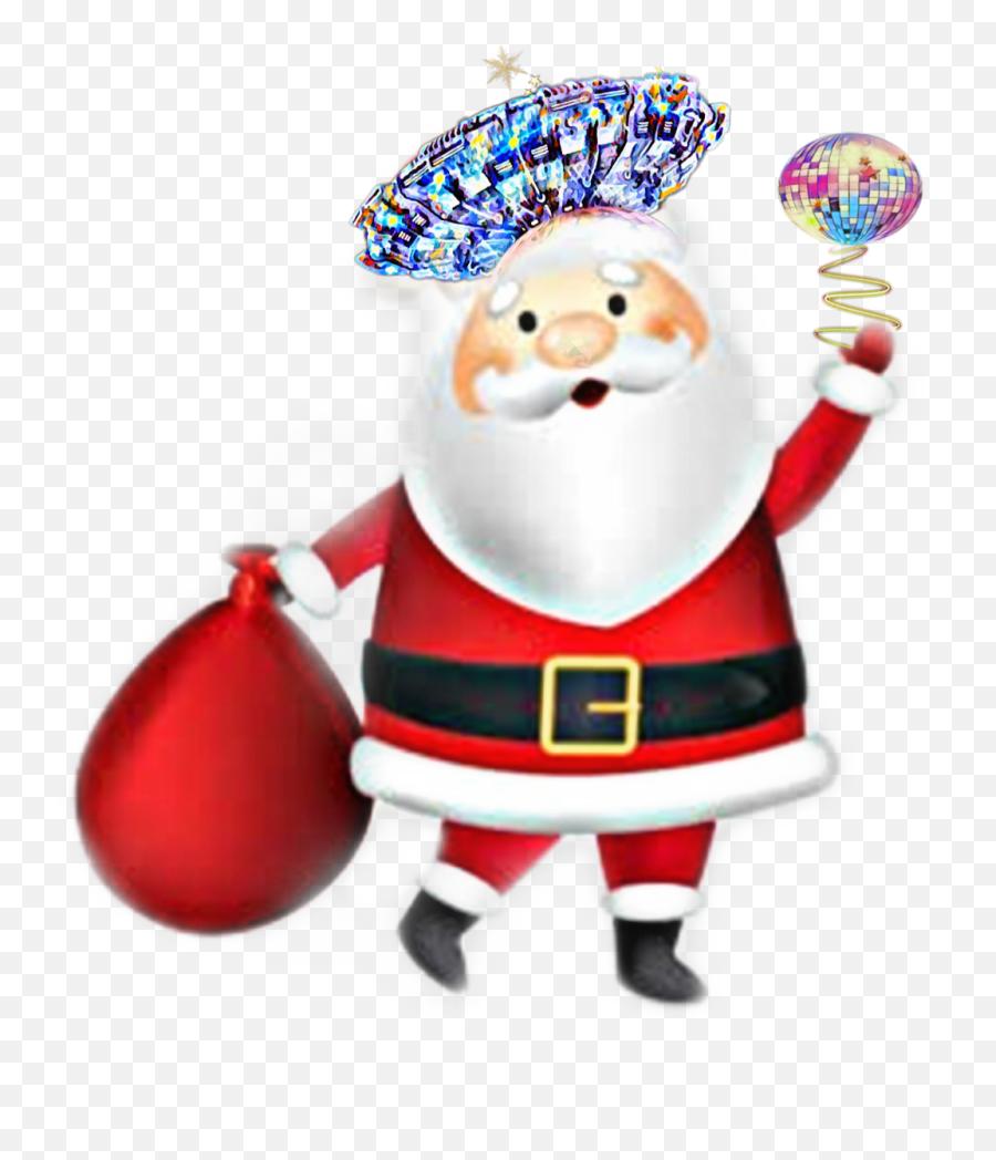 Christmas Santa Santaclause Emoji Hat Festivehat Scmy2 - Santa Clause Png,Santa Emoji