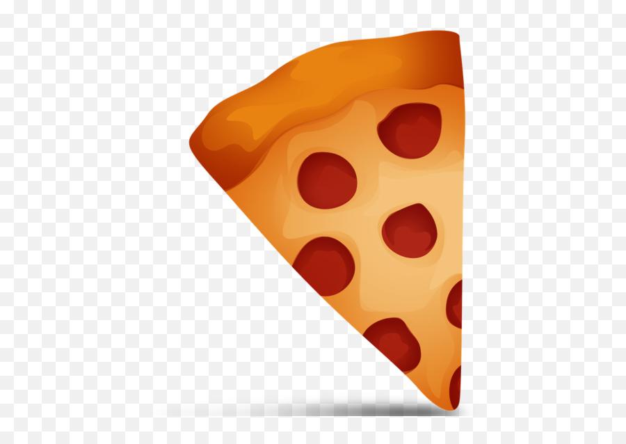 Pizza Emoji Cutouts - Pizza Emoji Clip Art,Flushed Face Emoji