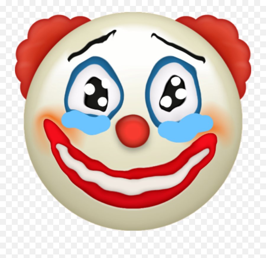 Emoji Clown Emojiclown Funny - Clown Iphone Emoji Png