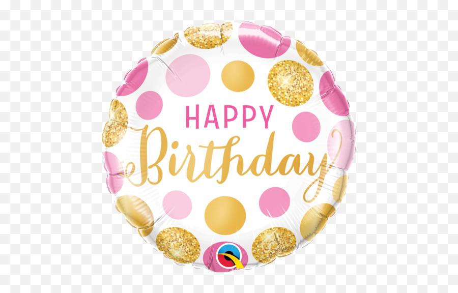 Birthday Balloons Gifts And Party - Qualatex Happy Birthday Balloons Emoji