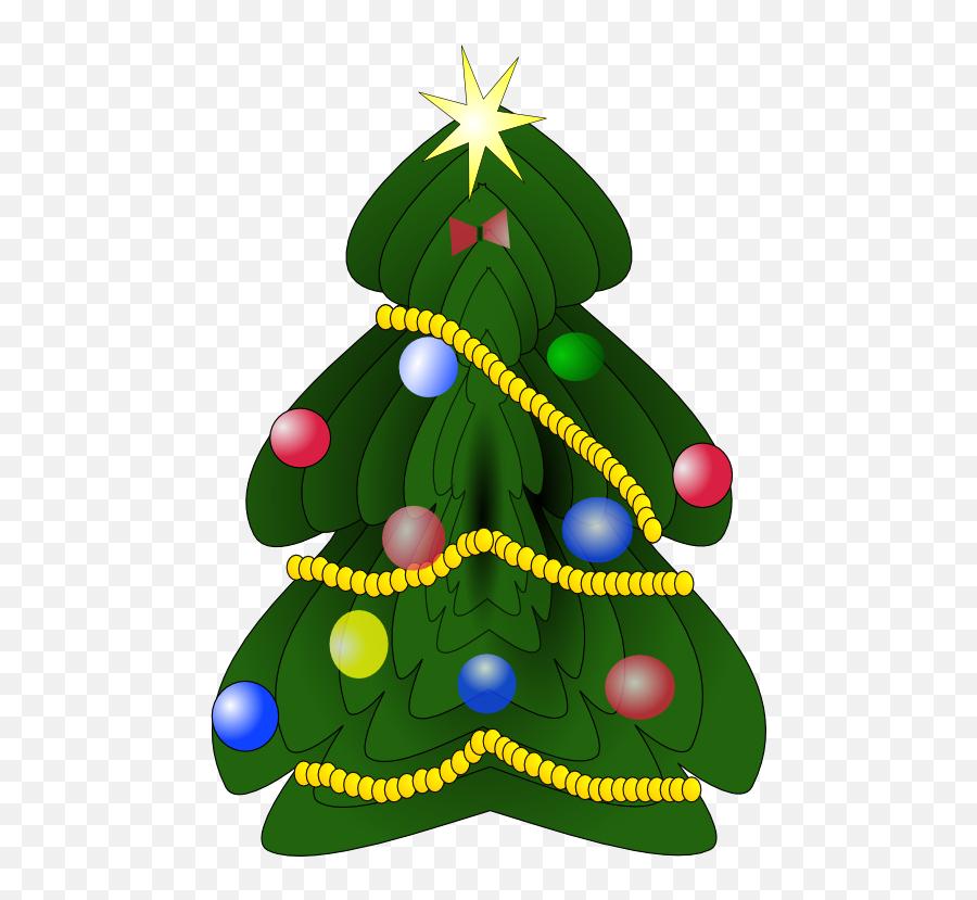 Christmas Tree Clipart - Christmas Trees Clip Art Emoji,Christmas Tree Emoticons