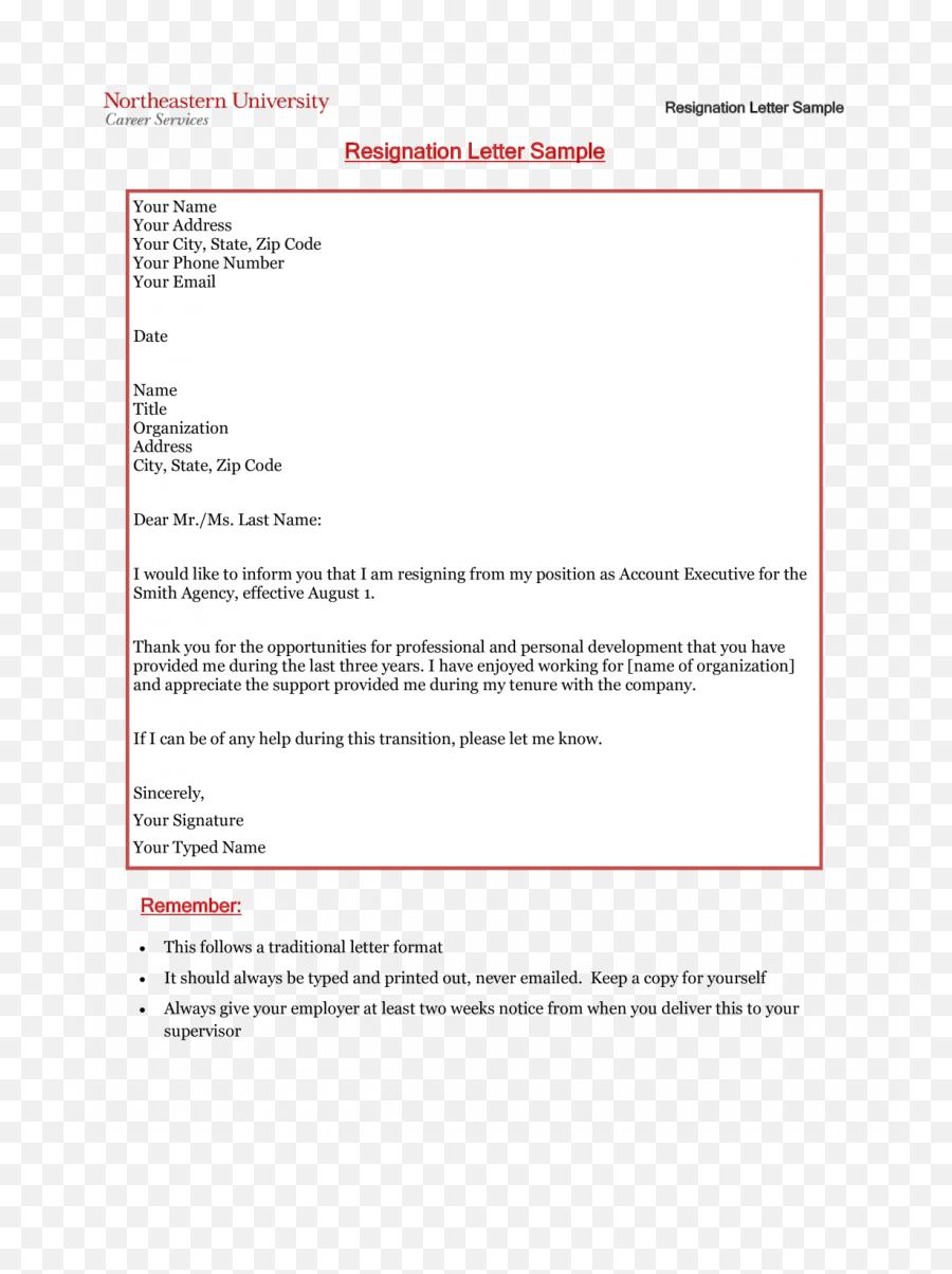 Letter Of Resignation Email Via Or In - Screenshot Emoji