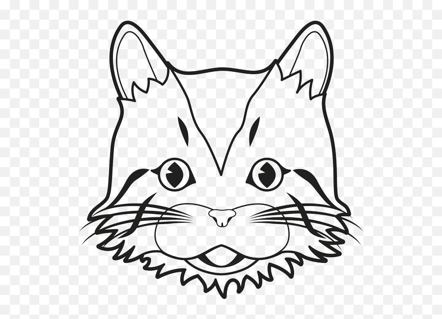 Emoji - Domestic Cat,Black And White Cat Emoji