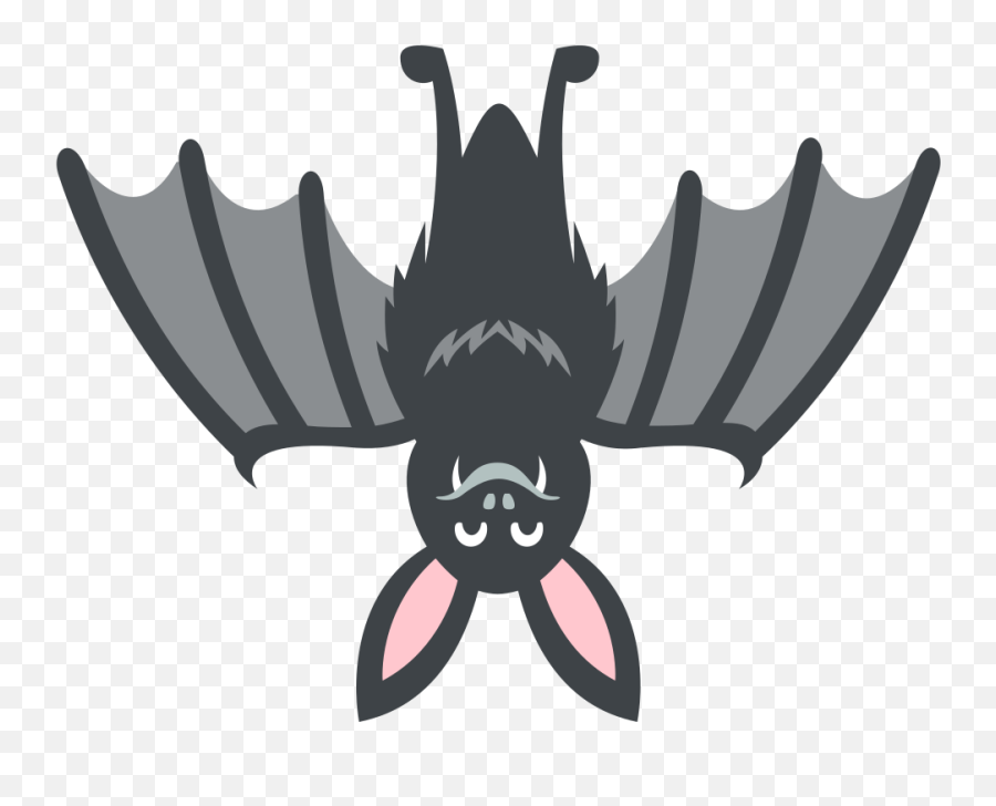 Emojione 1f987 - Discord Bat Emoji,Emoji For Discord