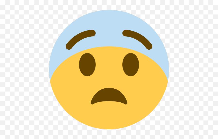 Scared Emoji Meaning With Pictures - Facebook Emoji Png Fearful,Emoji Facebook