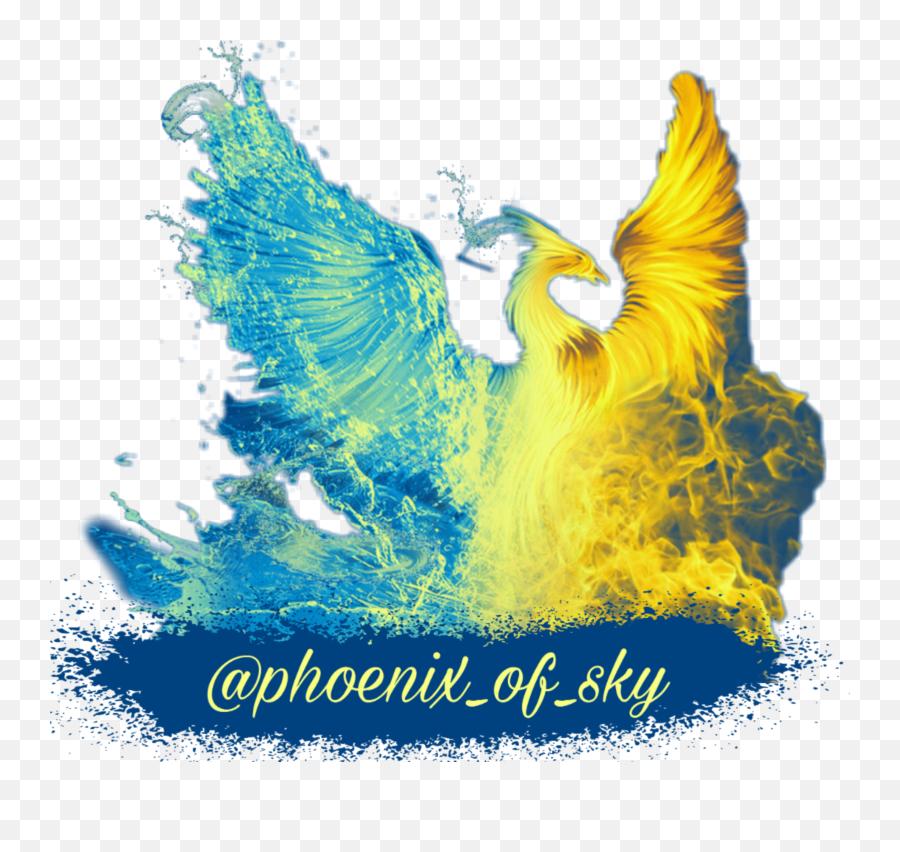 phoenix 2 - Sticker by Andreas Ölke  Twin Flame Twin Phoenix Emoji