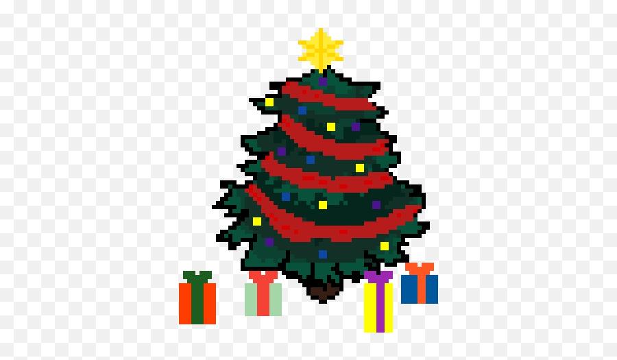 Pixilart - Bad Emoji By Pixi Christmas Tree,Christmas Tree Emoticon