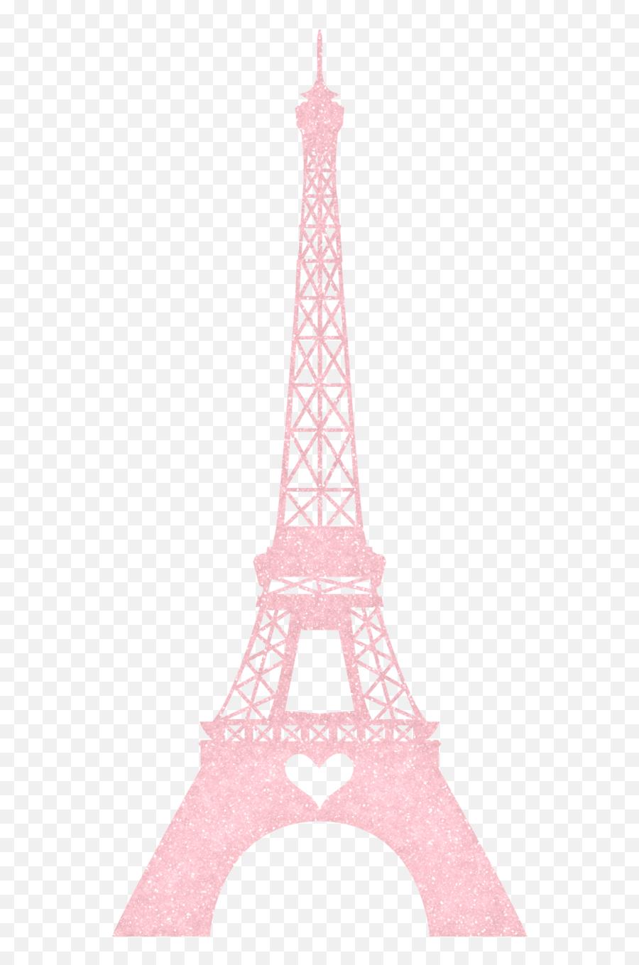 Pin - Pink Eiffel Tower Print Emoji,Eiffel Tower Emoji