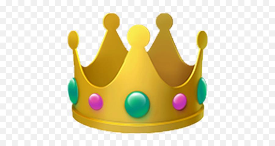 Crown Emoji Emojis Sticker - Transparent Background Crown Emoji,Crown Emoticon
