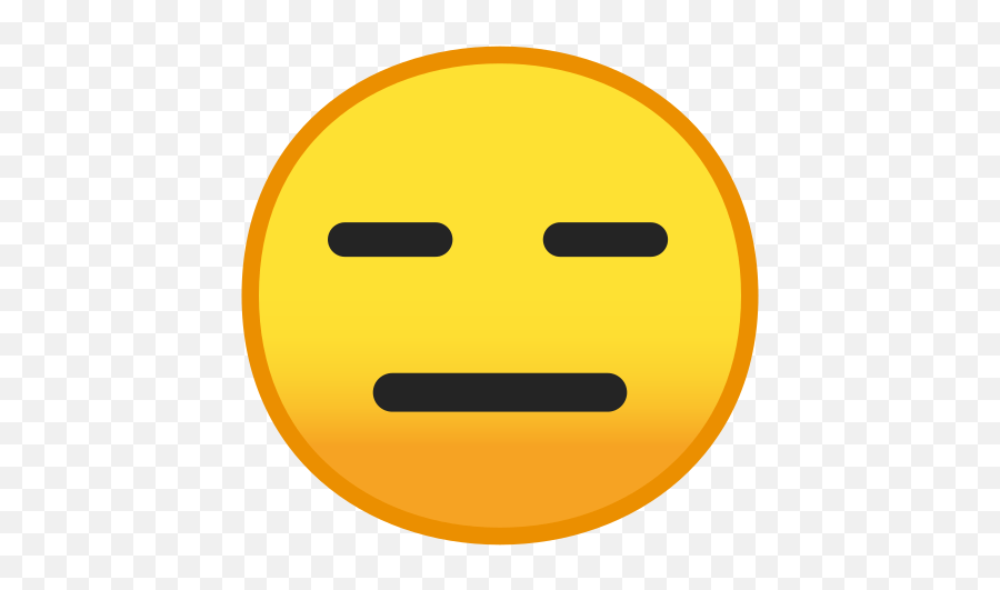 Expressionless Face Emoji Meaning With Pictures - Expressionless Face Emoji,Emoji Facebook