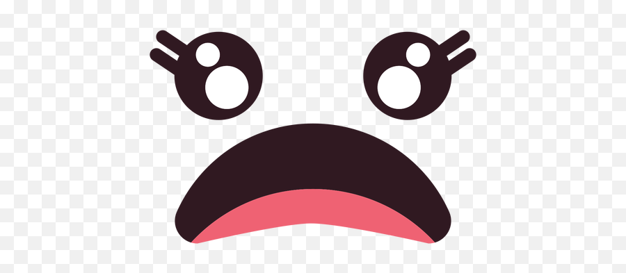 Simple Female Disappointed Emoticon Face - Portable Network Graphics Emoji,Disappointed Emoticon