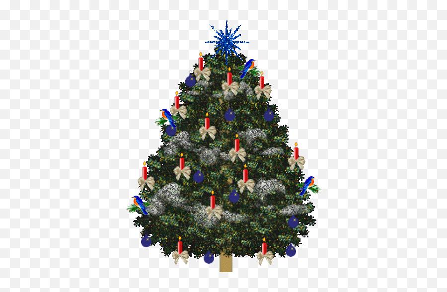 Graphic Christmas Trees - Christmas Tree Clip Art Animated Emoji,Christmas Tree Emoticons