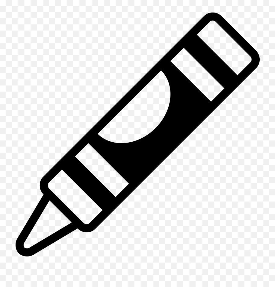 Emojione Bw 1f58d Crayon Vector Black And White Emoji Crayon Emoji Free Transparent Emoji Emojipng Com
