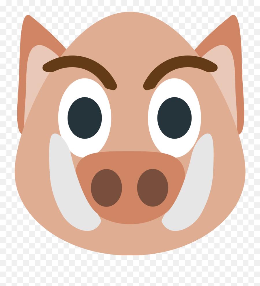 Emojione1 1f417 - Cartoon Emoji,Tiger Emoji