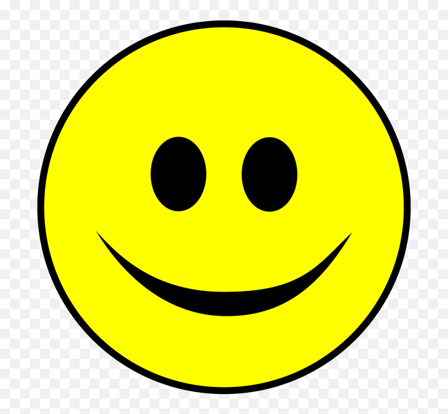 Emoticon Smiley Yellow Png Clipart - Smiley Face Clipart Png Emoji,Emoji Laugh