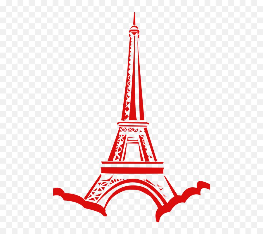 Eiffel Tower France Red - Paris Eiffel Tower Clip Art Emoji,Eiffel Tower Emoji