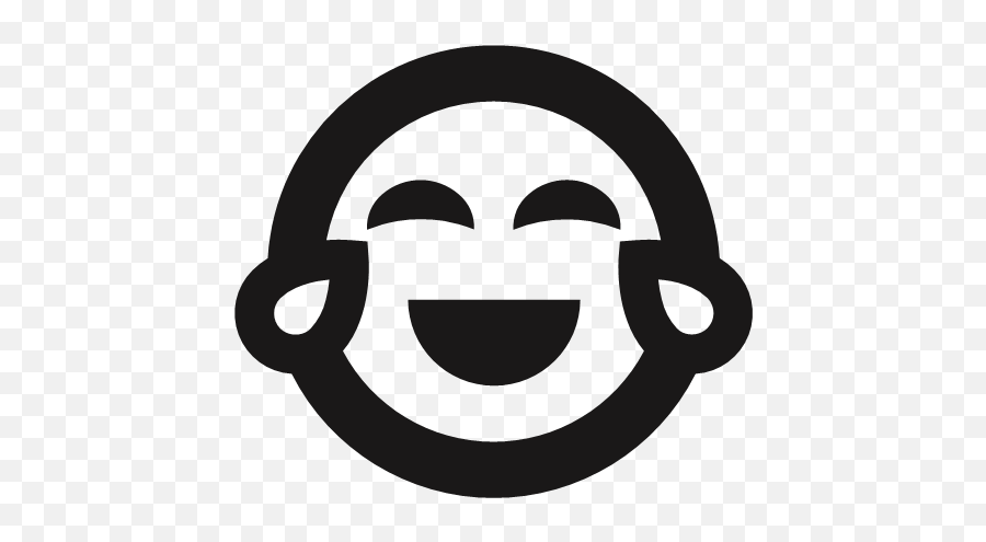 Emoji Emoticons Happy Joy Laugh Tears Icon,Tears Emoji