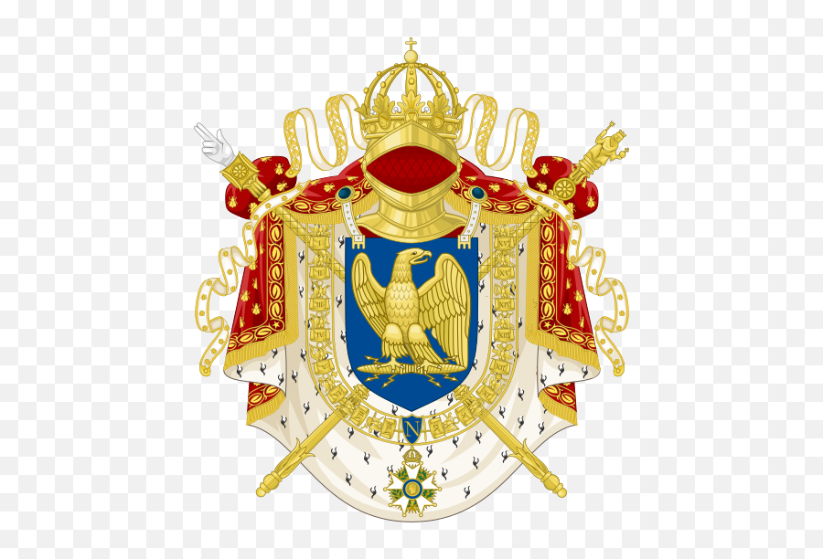 Imperial Coat Of Arms Of France - French Imperial Coat Of Arms Emoji,What Does The Crown Emoji Mean