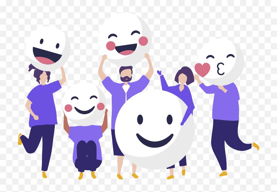 Careers - Hapiens Digital  Flat Happy Person Icon Emoji