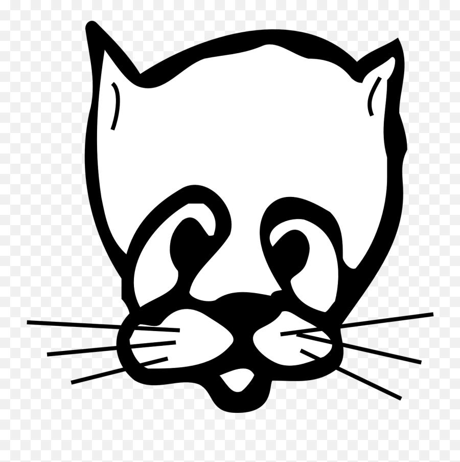 Cat Face Sad Whiskers Drooping - Clip Art Emoji,Tiger Emoji