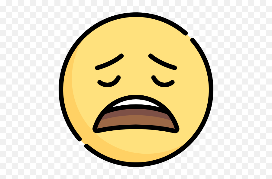 Disappointed - Silent Icon Emoji,Disappointed Emoticon