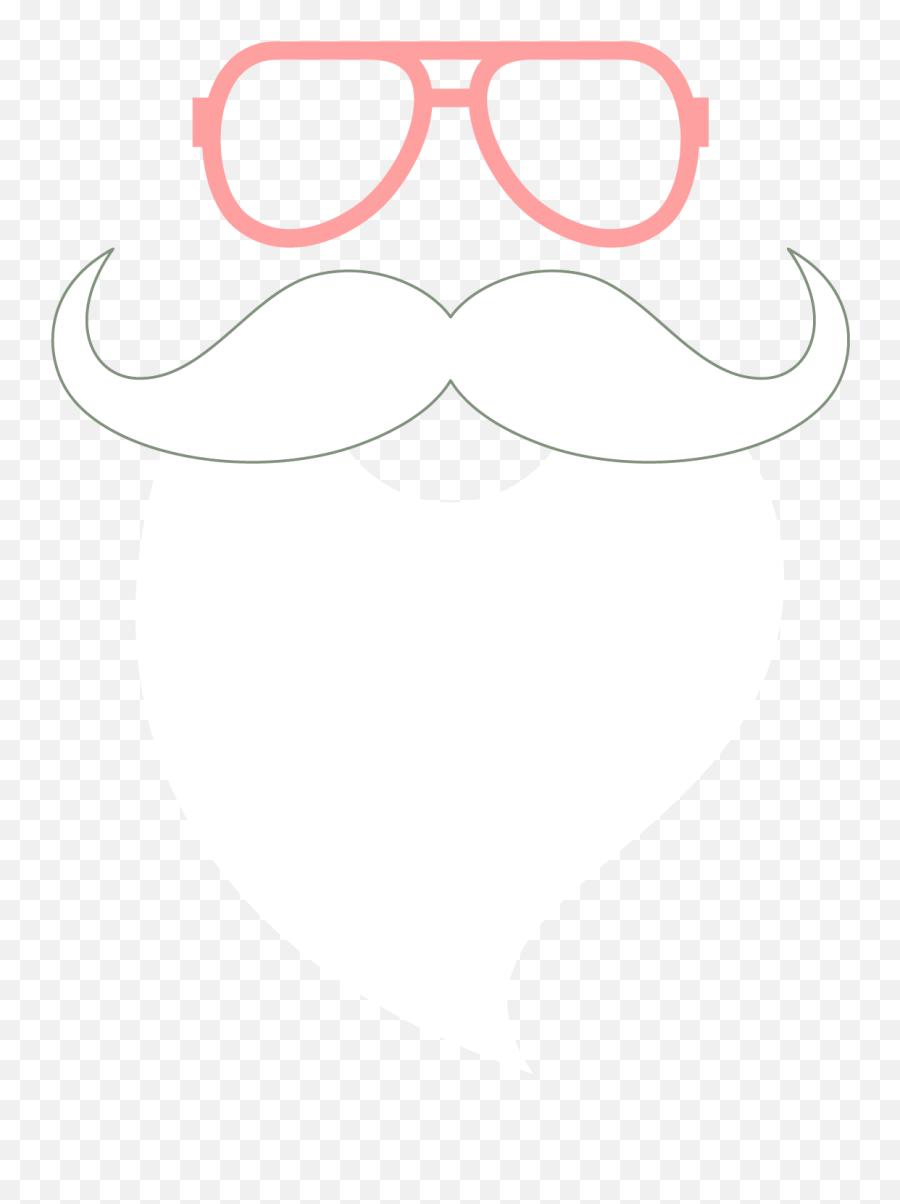 Santa Claus Beard Png - Santa White Beard Png Emoji,Black Santa Emoji