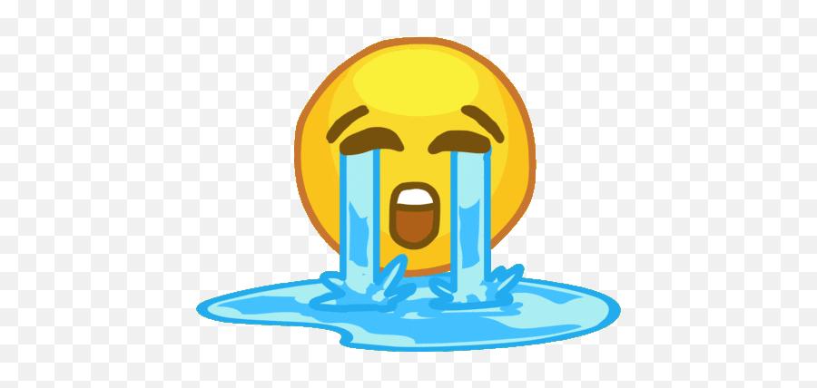 Crying Emoji Sad Gif - Crying Sticker,Crying Emoji