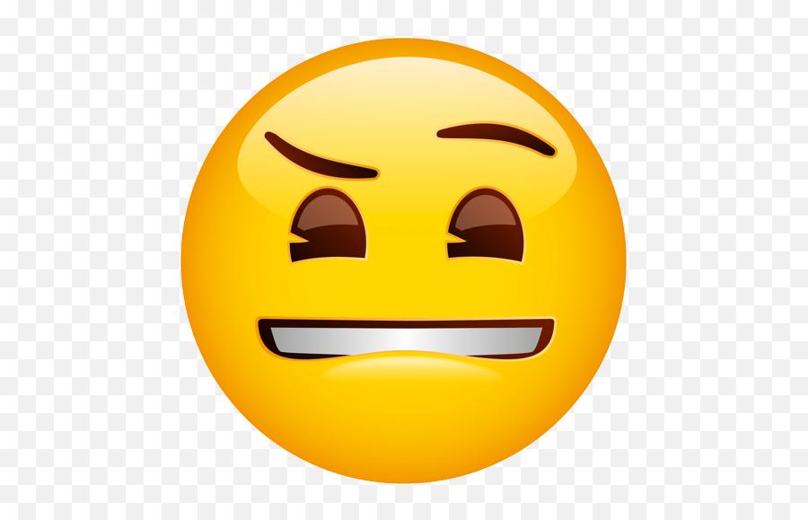 Emoji - Lip Bite Emoji,Lip Biting Emoji