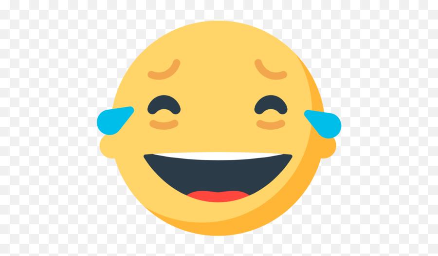 Face With Tears Of Joy Emoji - Mozilla Emoji,Cry Laughing Emoji
