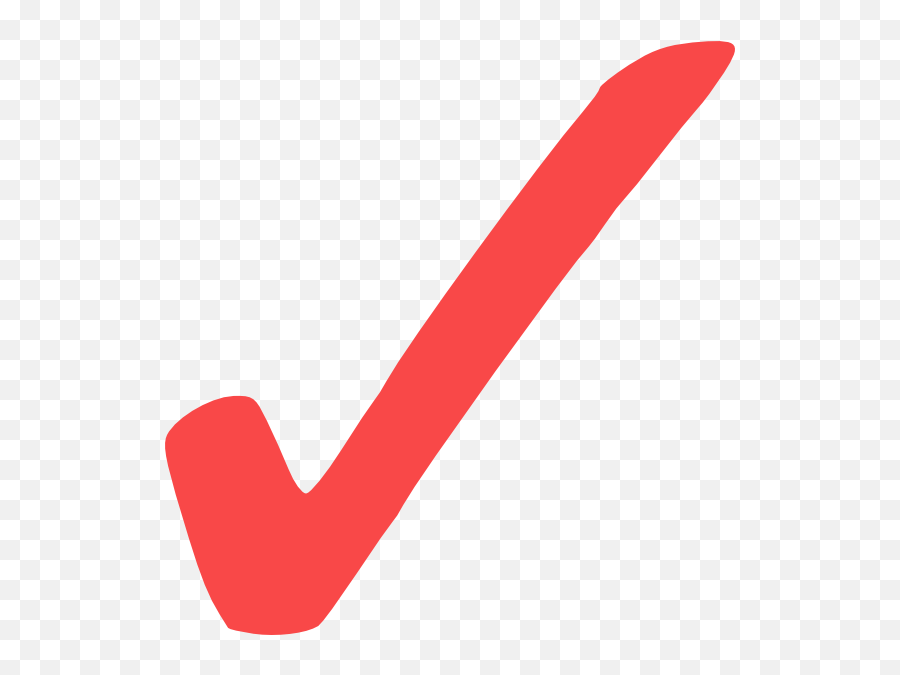 Small Check Mark Icon 9675 - Free Icons Library  Check Mark Red Png Emoji