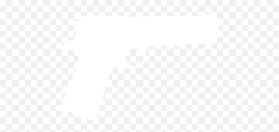 White Gun 5 Icon - White Gun Logo Png Emoji
