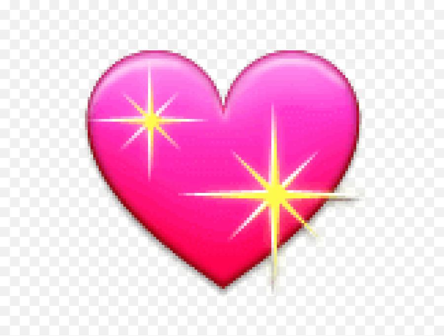Pinterest - Heart Picsart Emoji,Sparkling Heart Emoji